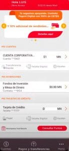 bienvenida a banorte app
