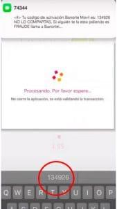 mensaje app banorte