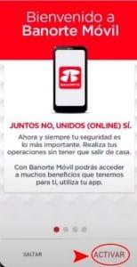 Descarga la App Banorte Móvil