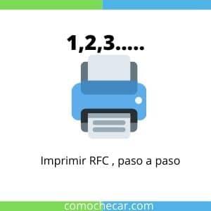 imprimir rfc paso a paso