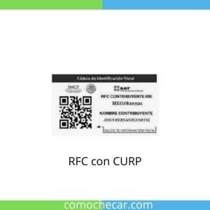 rfc con curp