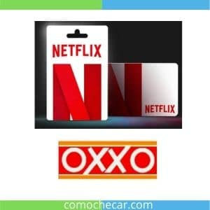 tarjeta Netflix oxxo